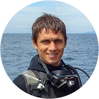 Дмитрий Поляков, инструктор по дайвингу в Pattaya Divers